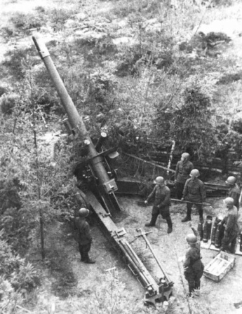 Советская гаубица МЛ-20