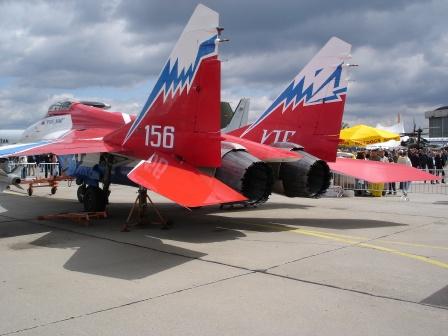 МиГ-29 ОВТ — всеракурсный отклоняемый вектор тяги