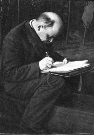 В.И.Ленин  на заседании III конгресса Коминтерна.   Москва, июнь-июль 1921 г.