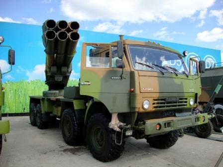 Камаз с ракетами, фото.