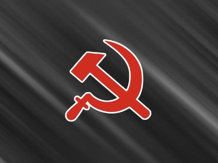 Красивый рабочий стол с гербом СССР