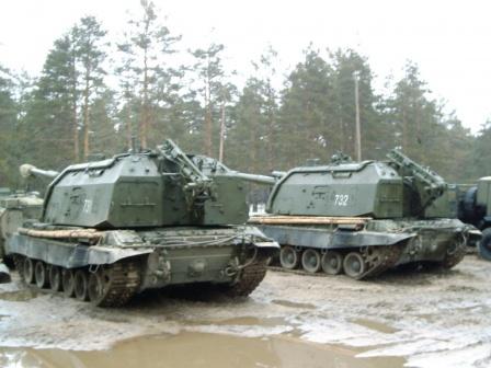 Самоходные артиллерийские установки, обои на рабочий стол.