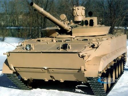 Боевая машина пехоты БМП-3, обои для рабочего