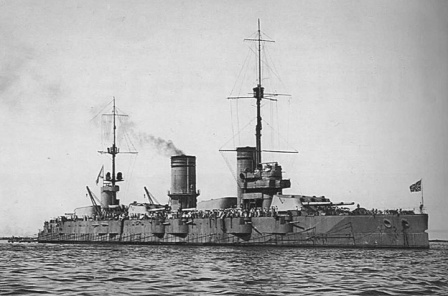 Советский линейный корабль Парижская коммуна (Севастополь)