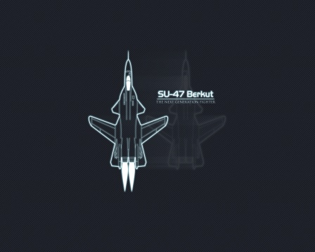 Su-47 Berkut, the next Generation fighter