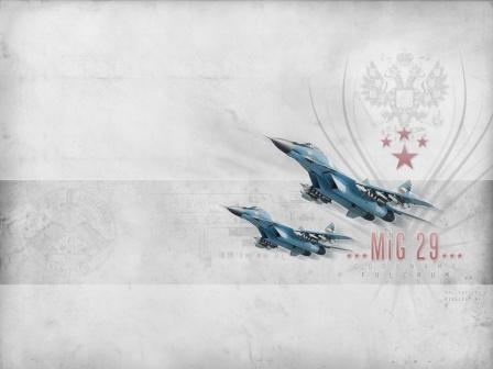 Обои Миг-29, рабочий стол.