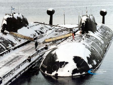Подводная лодка проекта 971 «Щука-Б» (Akula)