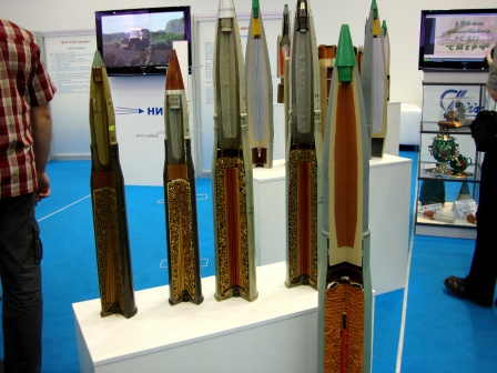 Ракеты в разрезе, обои для рабочего стола.