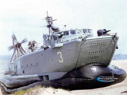 Десантный катер проекта 1209 намвоздушной  подушке. код НАТО - Utenok.