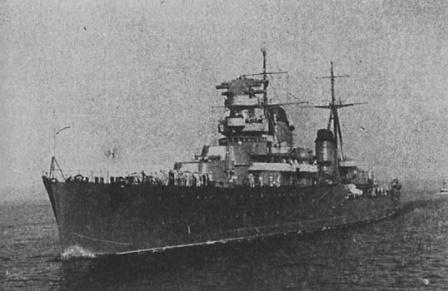 Советский легкий крейсер Максим Горький