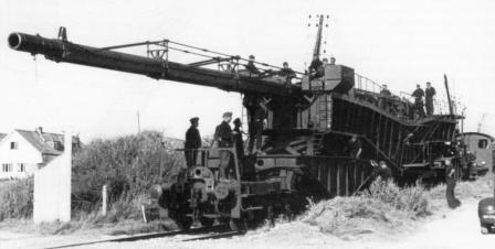 152-мм железнодорожная установка Б-6