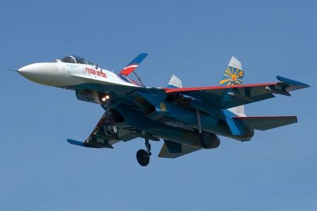 Су-27 пилотажной группы «Русские витязи»