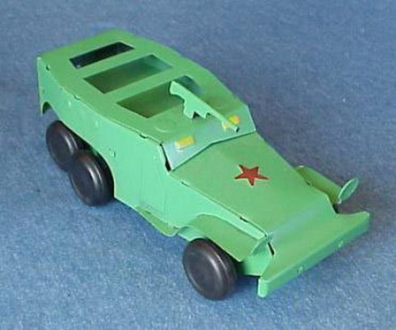 Игрушечный бронетранспортер, игрушки СССР
