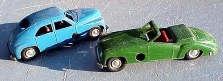 Игрушечные авто сделанные в СССР, фото.