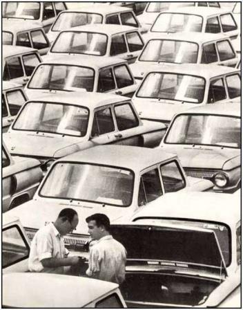 Советский автопром, фото.