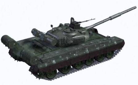 Т-80 Сзади сверху
