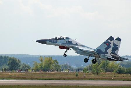 Су-30МКМ на авиасалоне МАКС-2007