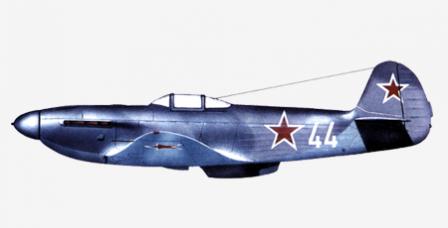 Советский истребитель ЯК-3
