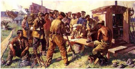 СССР плакат Конструкторы рабочие.