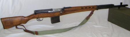 Самозарядная винтовка Токарева СВТ-38/40