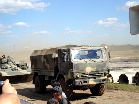 Фото с выступлений Российской бронетехники.