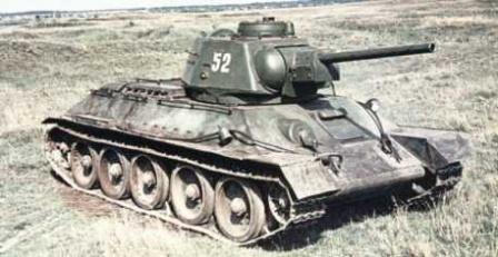 Т 34 танк