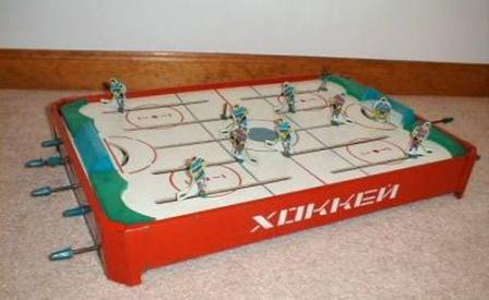 Хоккей! Известная Советская игрушка.