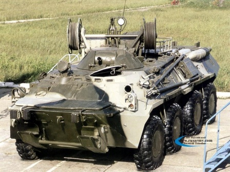 Ремонтно-эвакуационная машина БРЭМ-К