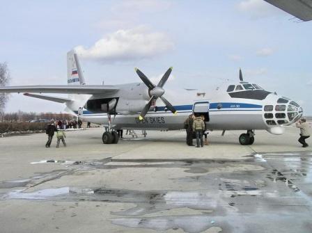 Ан-30 самолет аэрофоторазведки
