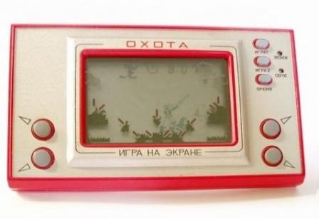 Игра на экране, охота, СССР.