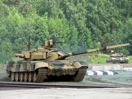 Российские танки. Обои на рабочий стол.