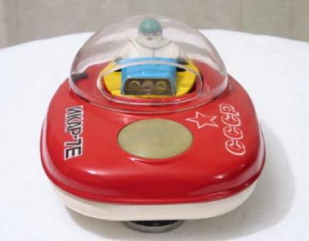 Икар-7Е, игрушка советская, фото.