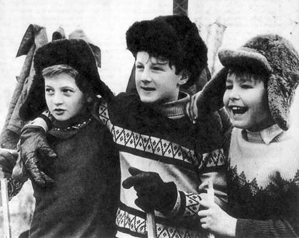 Фото детей, СССР.