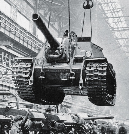 Сборка САУ СУ-152
