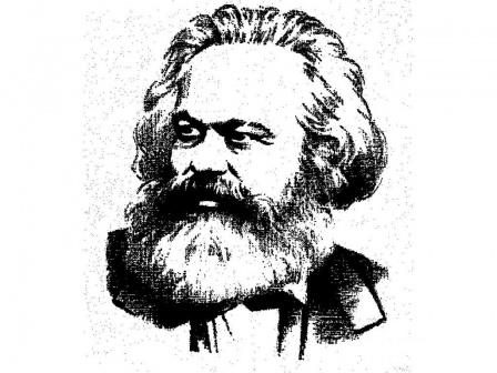 Карл Маркс, обои на рабочий стол.