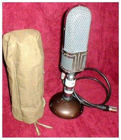 Советский микрофон.