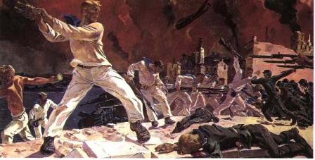 Военные плакаты СССР.