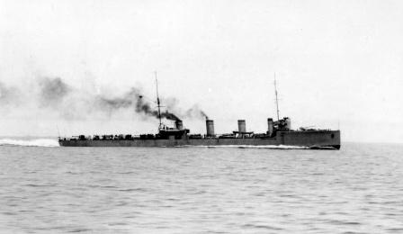 Новик — паротурбинный эскадренный миноносец Балтийского флота,