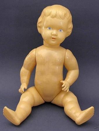 Пупсик. Детская игрушка. Сделано в СССР.
