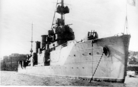 Советский легкий крейсер «Червона Украина» за 2 часа до гибели