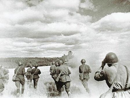 В бой идет пехота