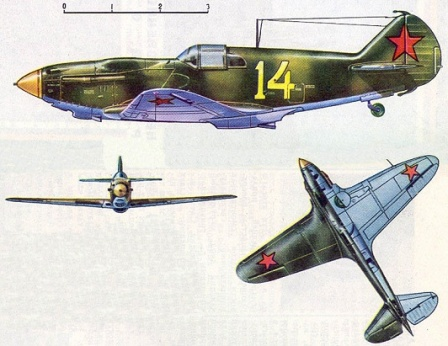 Советский истребитель ЛАГГ - 3.