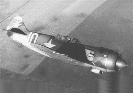 Ла-5Ф в полете