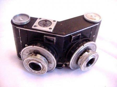 Еще советский фотоаппарат.
