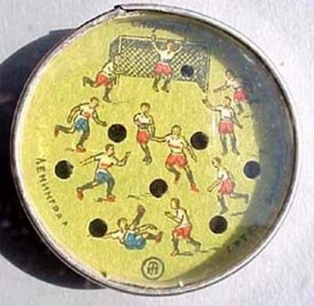 Еще фото миниигры в футбол, в другом цвете.