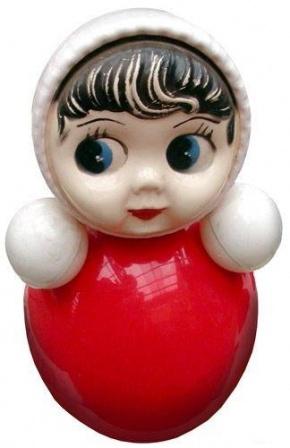 Детская игрушка Ниваляшка, сделано в СССР.