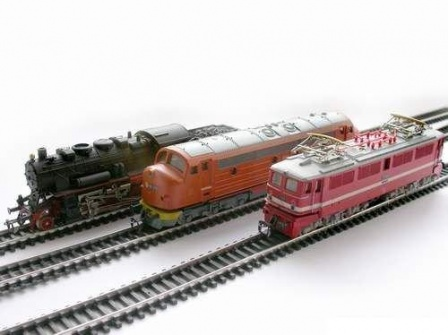 Детская игрушка железная дорога, сделано в СССР.