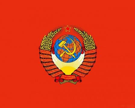 Герб СССР, обои на рабочий стол
