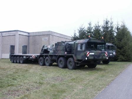 Военный тягач, фото, обои для рабочего стола.