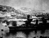 Линкор Парижская коммуна ведет огонь по вражеским позициям. Севастополь 1941
